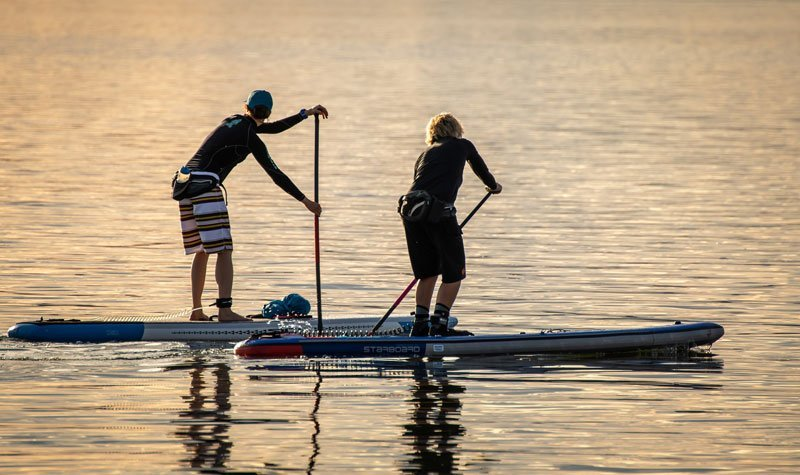 Stand-up-Paddle-Boarding