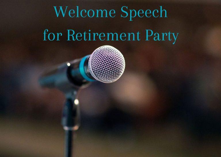 How to Write the Best Retirement Speech