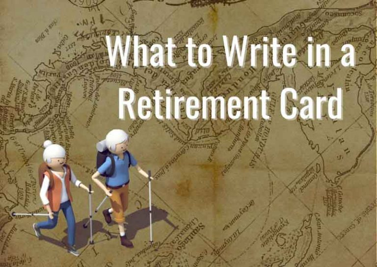 What to Write in a Retirement Card – Easy to Follow Guide with 55 Retirement Card Messages