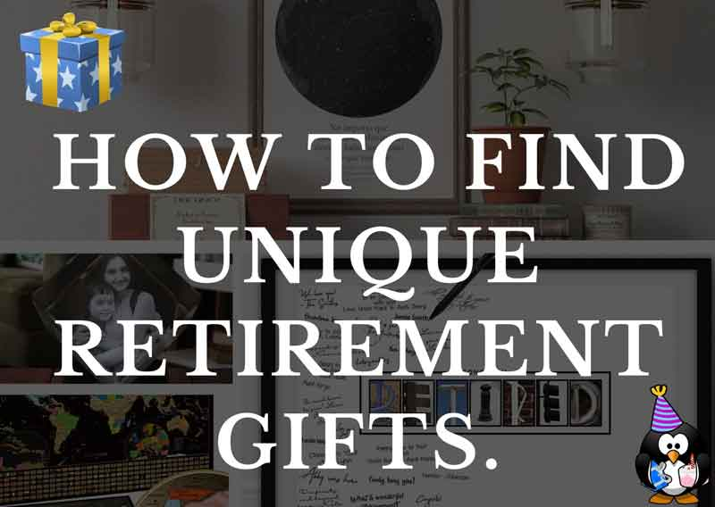 How to Find Unique Retirement Gifts