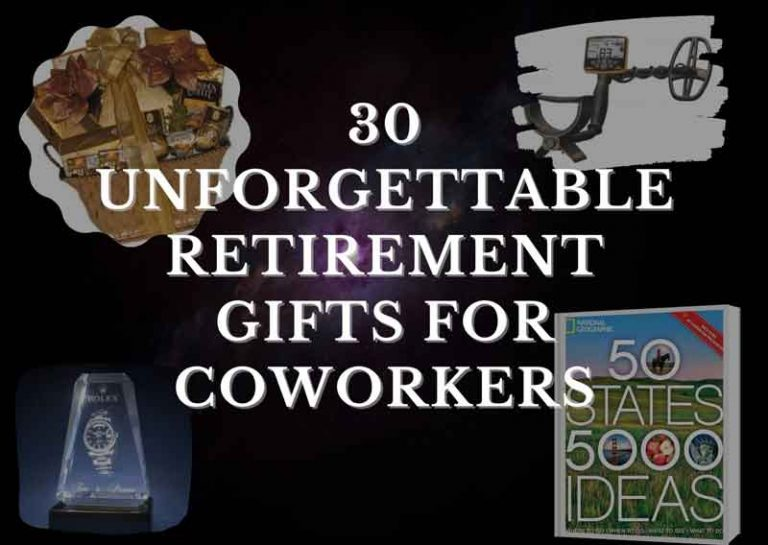 30 Unforgettable Retirement Gifts for Coworkers