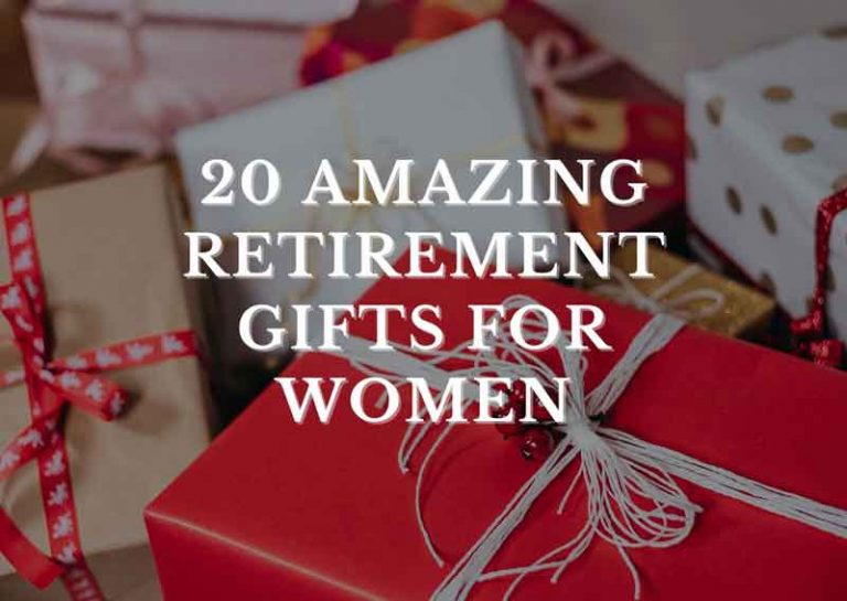 20 Amazing Retirement Gifts for Women